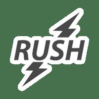 Logo poppers RUSH